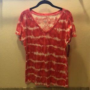 NWT. Tie dye t-shirt.